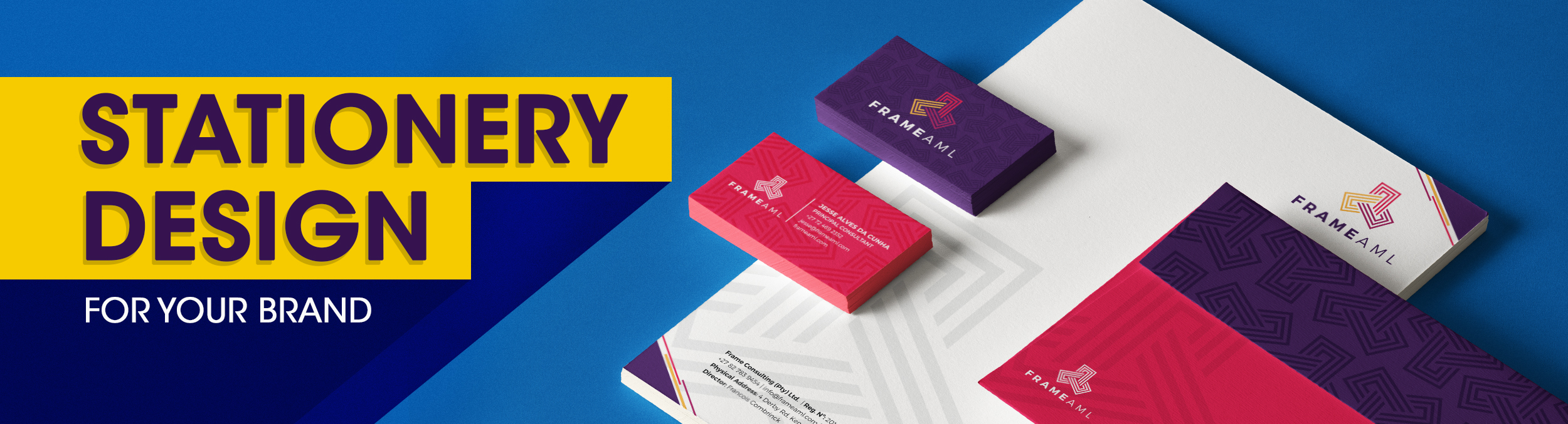 Corporate Stationery Designers Agency in Johannesburg