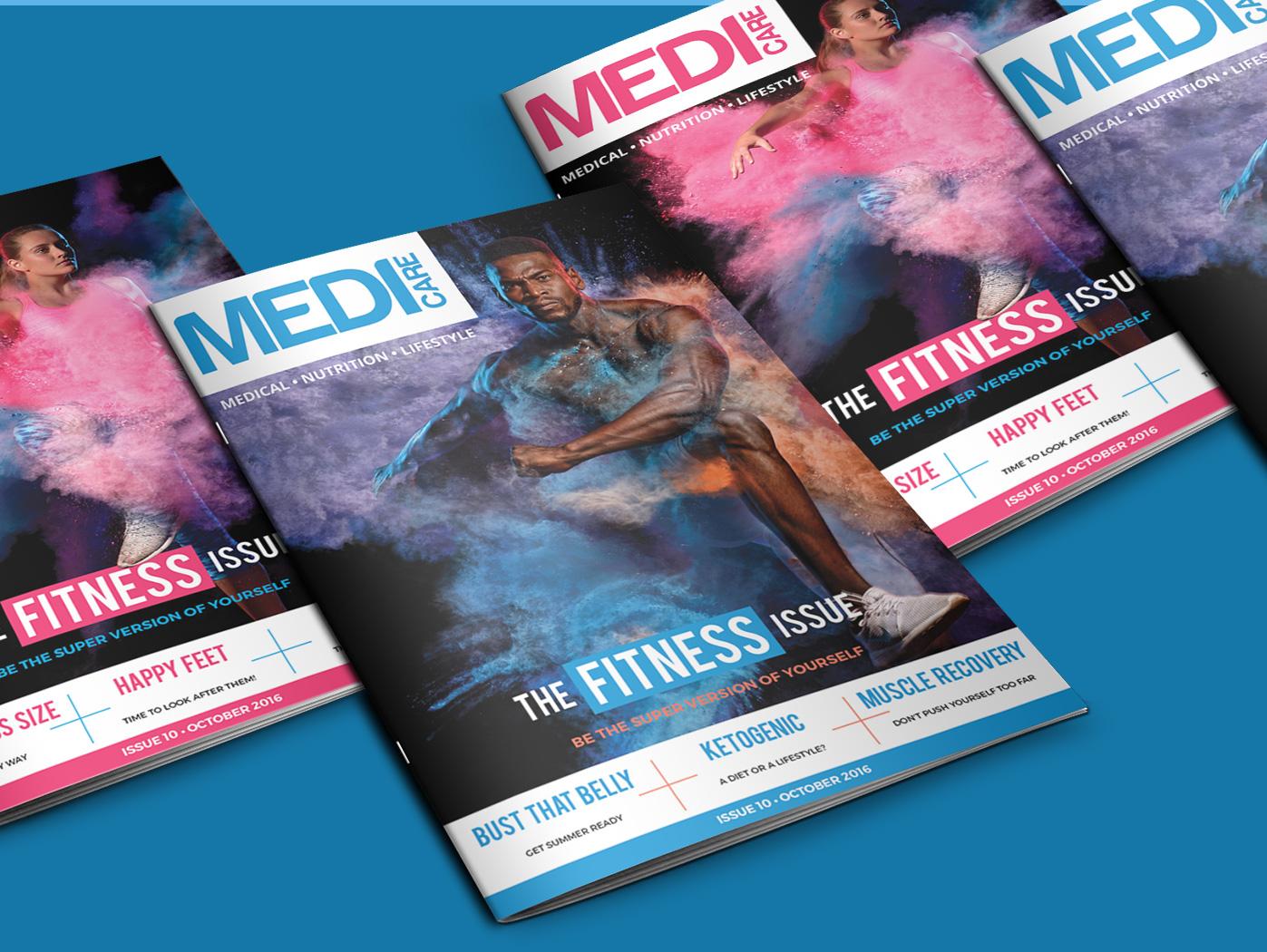 Medicare | Magazine Designs Graphic Design by Agent Orange South Africa
