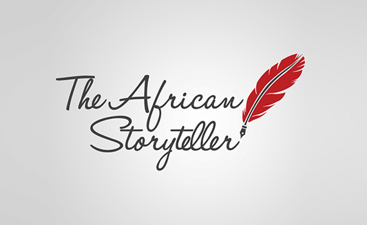 The African Storyteller SA Logo redesign Agent Orange South Africa