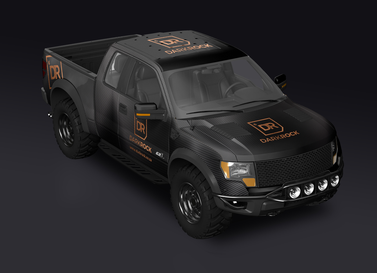 Dark Rock Car Wrap Vynil Graphic Design by Agent Orange South Africa