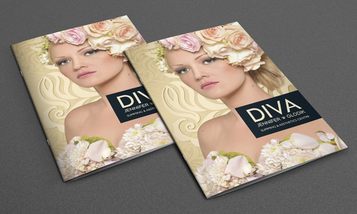 Jennifer Glodik - DIVA Company Brochure Graphic Design by Agent Orange South Africa