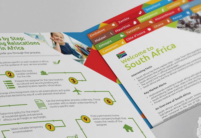Brochure and Folder Design - Elliott Mobility