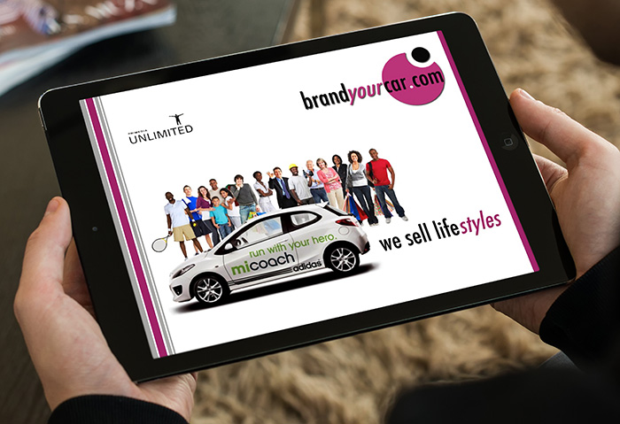 Powerpoint Presentation graphic Designers - Brand Your Car