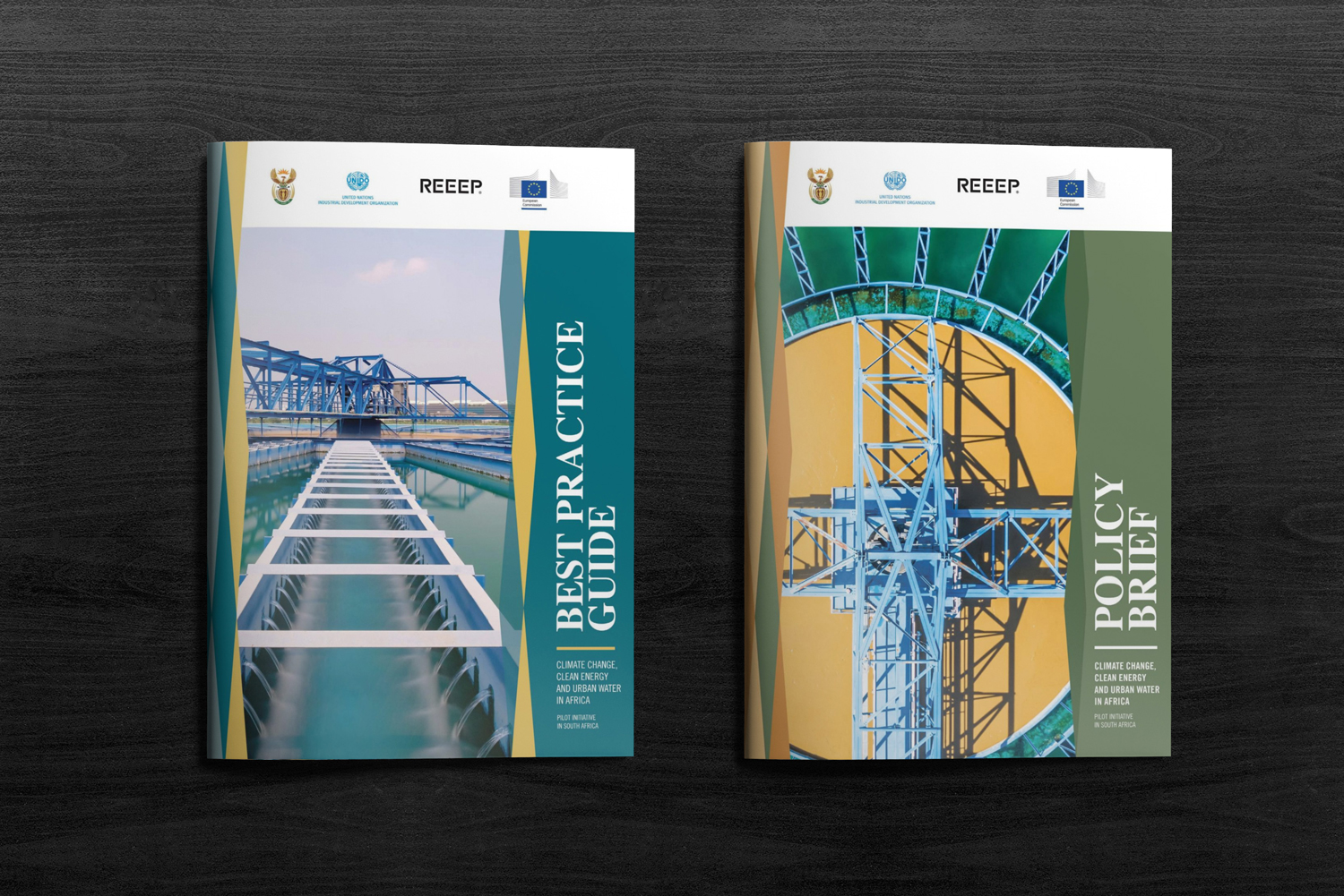 REEEP Best Practice Guide Insert Graphic Design by Agent Orange South Africa