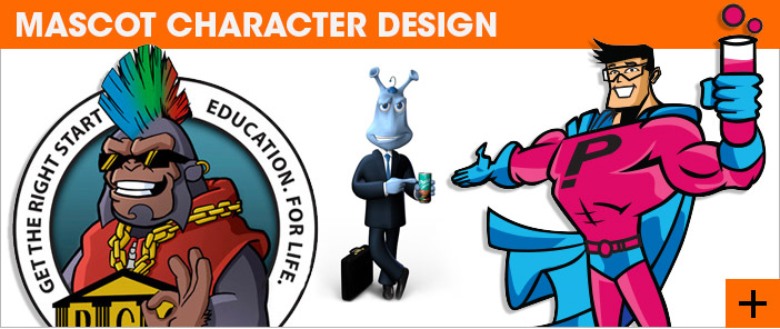 Mascot Character Design | Design company in Joahnnesburg