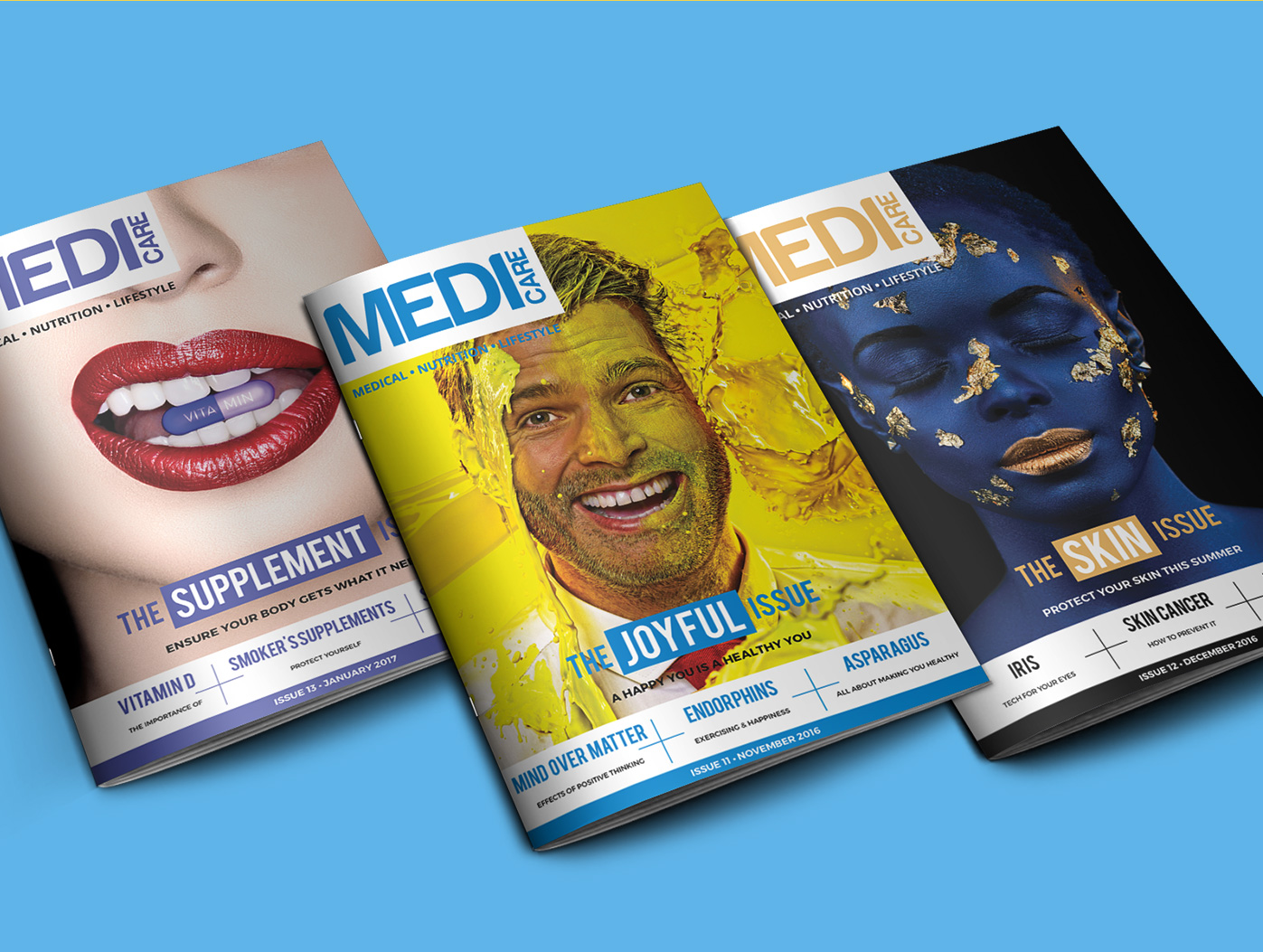 Medicare | Magazine Designs Graphic Design by Agent Orange South Africa