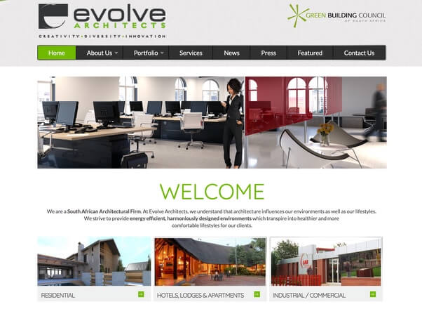Web design company digital agency top rated designers for Architectural design companies in johannesburg