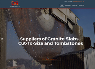 Granite Supplier Company Web Redesign Developers in Johannesburg South Africa