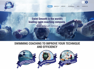 Swim Smooth Joburg Web Design Developers in Johannesburg South Africa