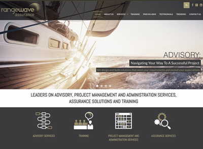 RangeWave Assurance Web Redesign Developers in Johannesburg South Africa