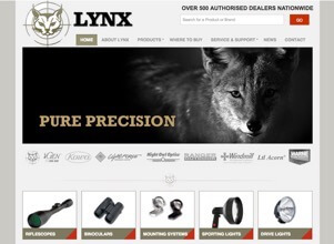 Lynx Optics Website Redesign and Development Company in Johannesburg
