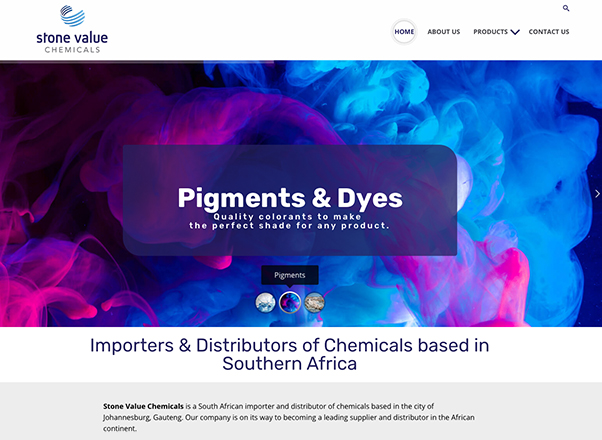 Stone Value Chemicals South Africa Web Design Developers in Johannesburg South Africa