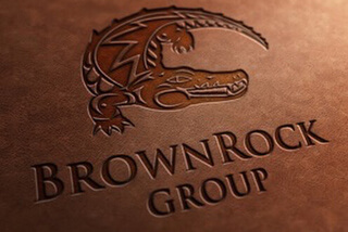 BrownRock Investment Company Logo Designers Agent Orange Agency in South Africa