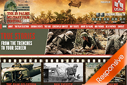 29 Palms Military Film Festival USA 2016 Event Website Designers Agent Orange Design South Africa