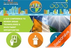 Smart City Africa 2016 Event Website Designers Agent Orange Design South Africa