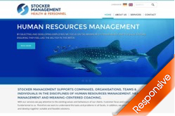 Stocker Management Corporate Website by Agent Orange Design South African Designers