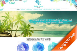 Becker Living Life Coaching Website Designers Agent Orange Design South Africa