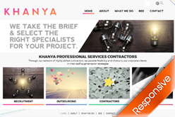 KHANYA Company Website Development By Agent Orange Designers in Johannesburg South Africa