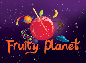 Fruity Planet drinks Logo Design by Agent Orange South African creative agencies