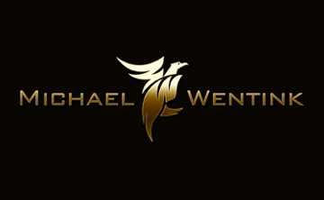 South African Dancer Michael Wentink Logo Brand by Agent Orange Design