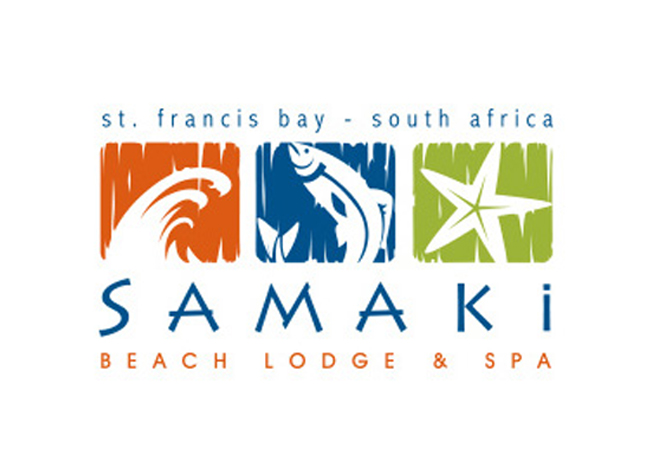 Samaki and Spa Logo Design by Agent Orange Design in Johannesburg