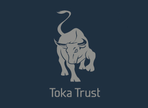 Toka Trust Corporate Logo Branding by Agent Orange Design in South Africa