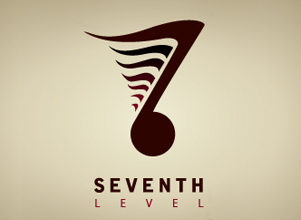 Seventh Level Branding Rebranding Logo Design by Agent Orange South African creative agencies