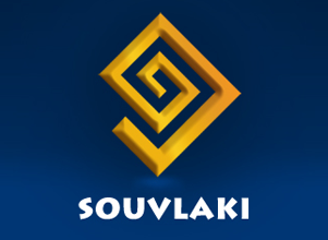 Souvlaki Logo Design by Agent Orange South African creative agencies rebranding