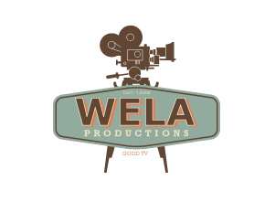 Wela TV Productions by Agent Orange Design Company Logo Designers in Johannesburg