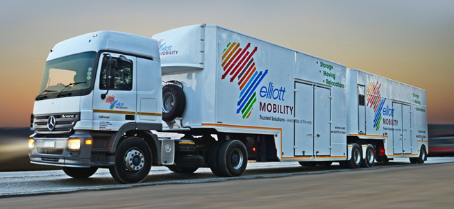 Elliott Mobility | Vehicle Graphics Design