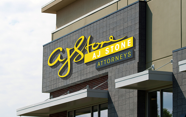 AJ Stone Attorneys | Outdoor Signage