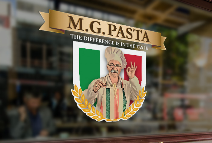 M.G. Pasta | Window Graphics | Window Signage