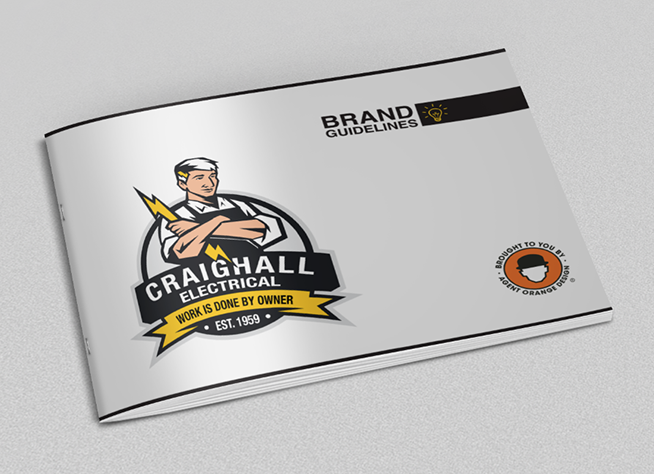 Craighall Electrical | Brand Guidelines Document