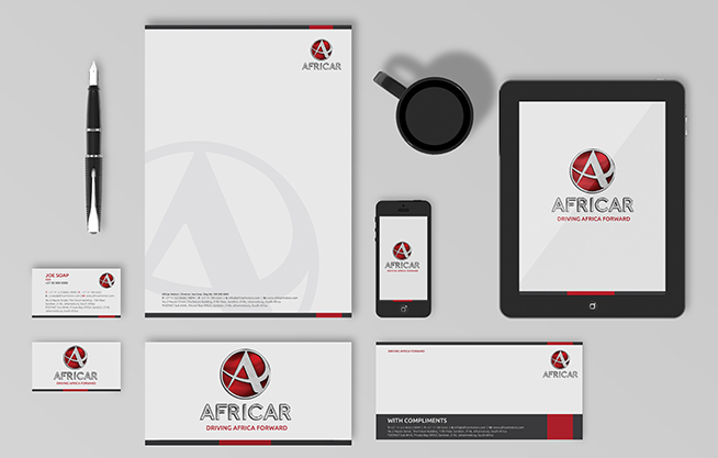 business stationery corporate identity designers in johannesburg