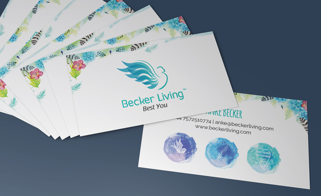 Business card design price quote images card design and card template business stationery corporate identity designers in johannesburg becker living life coach business card designs reheart images colourmoves