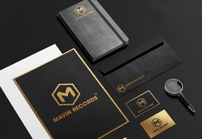Mavin Records Corporate Stationery