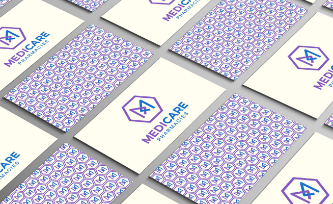 Medicare Pharmacies Business Card Design