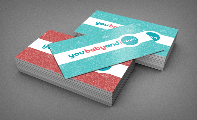 You baby and I Business Card Designs