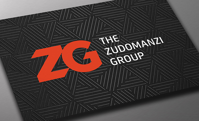 The Zudomanzi Group - Spot UV Business Card Design