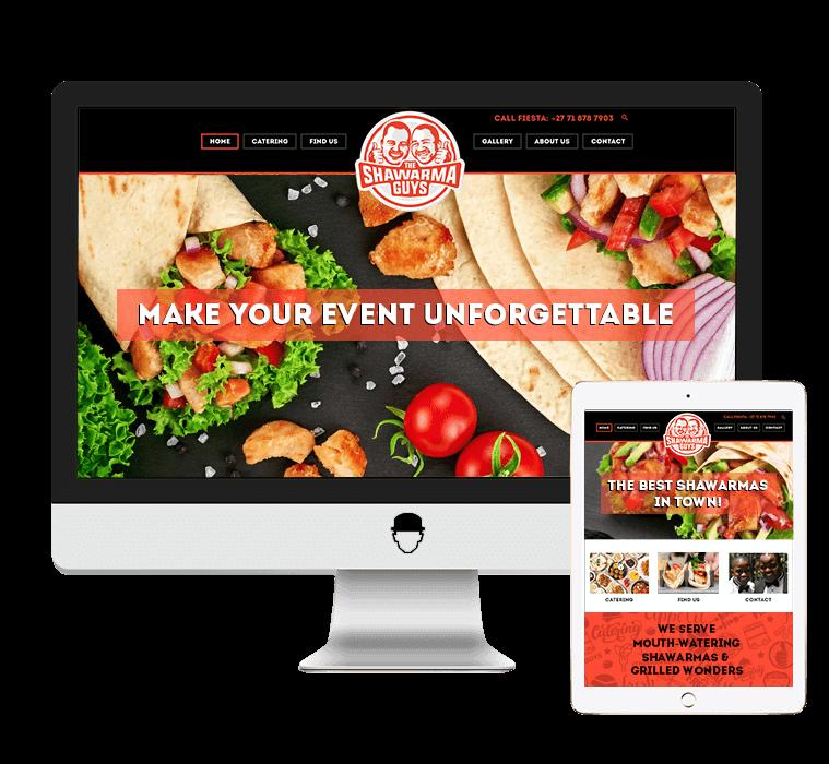 The Shawarma Guys Website Design by Agent Orange Design